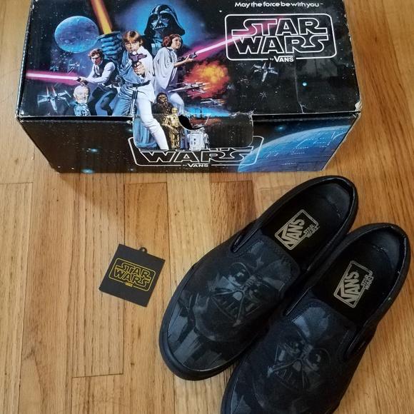 Star Wars X Vans Darth Vader Slip Ons